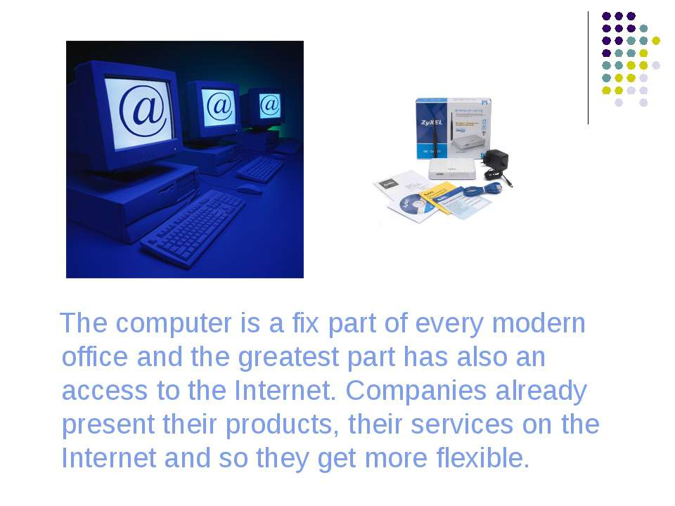 The computer is a fix part of every modern office and the greatest part has a...