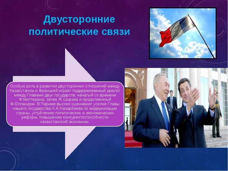 Двусторонние политические связи