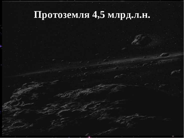 Протоземля 4,5 млрд.л.н.