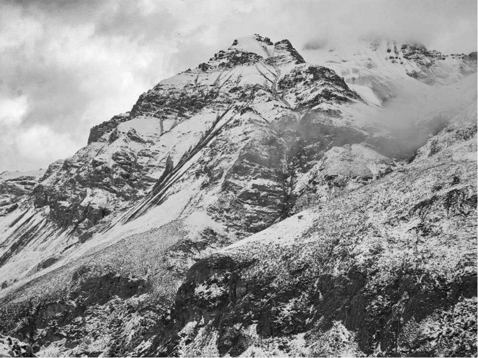 Самая высокая точка Тянь-Шаня — пик Победы (7439 м)