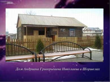 Дом Андриана Григорьевича Николаева в Шоршелах