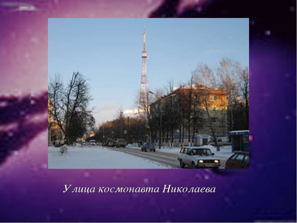 Улица космонавта Николаева