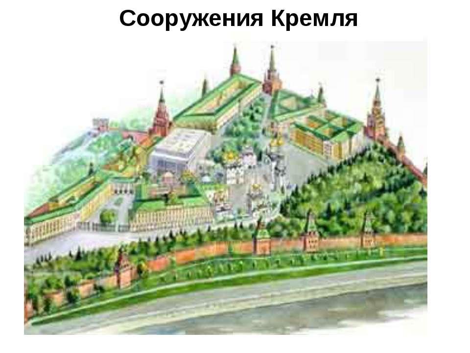 Сооружения Кремля