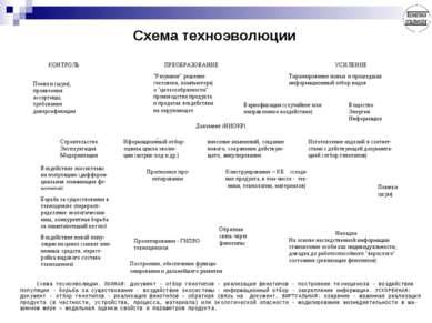 Схема техноэволюции