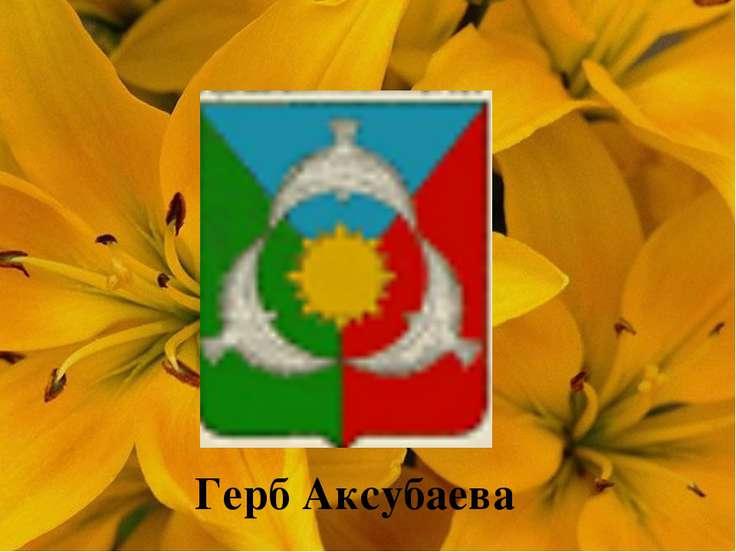 Герб Аксубаева