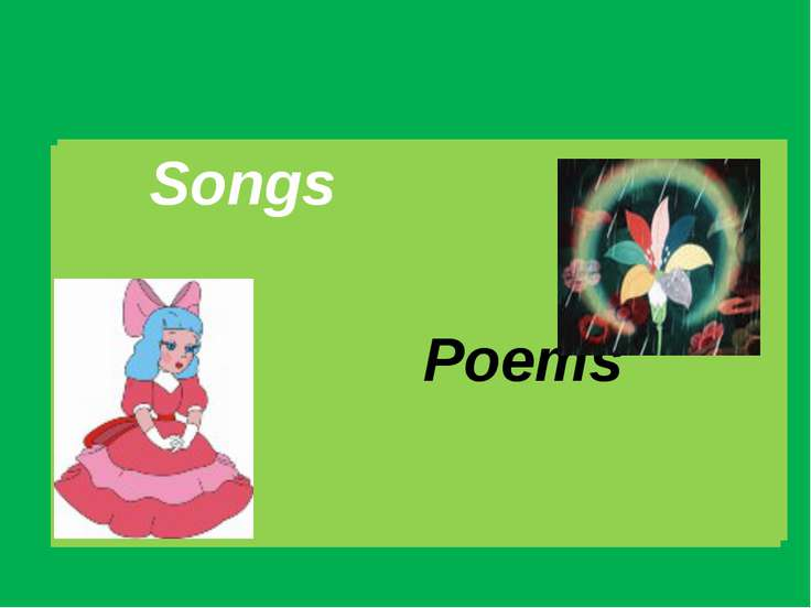 Songs Poems Songs Poems