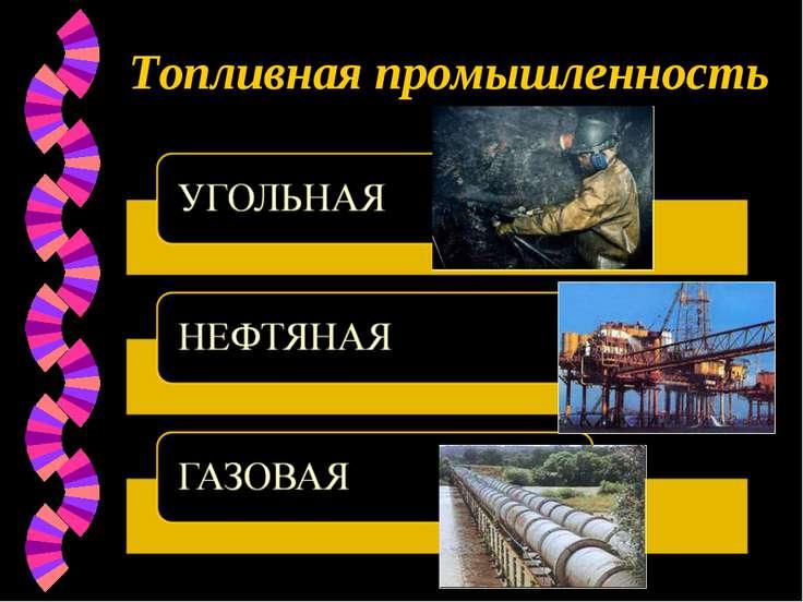 Топливная промышленность