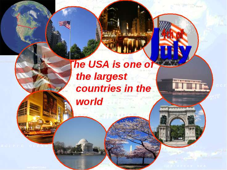 The USA is one of the largest countries in the worldlargestcountries in the w...