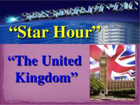 Star Hour. The United Kingdom