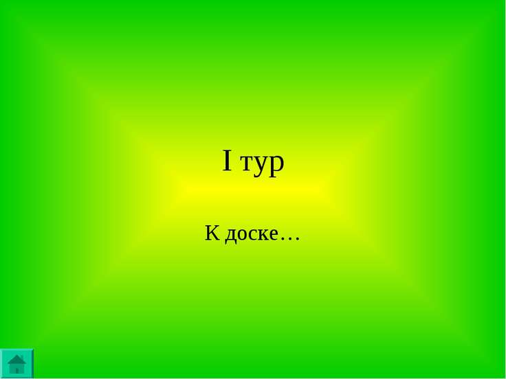 I тур К доске…