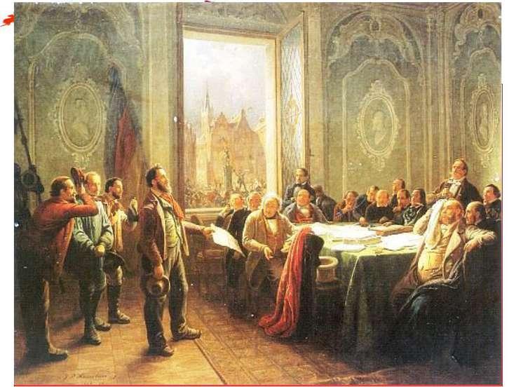Революционные изменения Создание Временного правительства для управления госу...