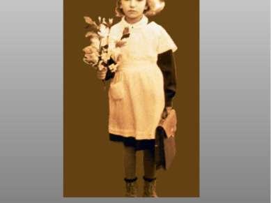 первоклассница 1956г «Потепление» режима сказалось и на демократизации школьн...