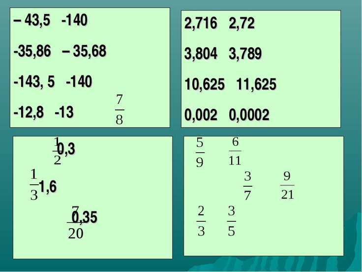 – 43,5 -140 -35,86 – 35,68 -143, 5 -140 -12,8 -13 2,716 2,72 3,804 3,789 10,6...