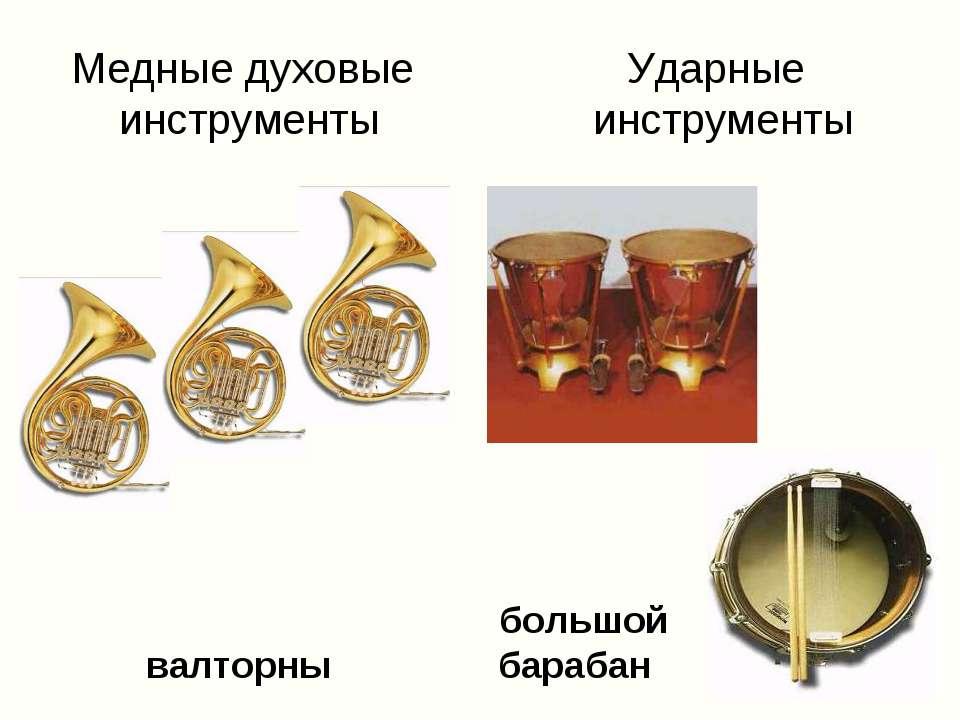 литавры большой валторны барабан Медные духовые Ударные инструменты инструменты