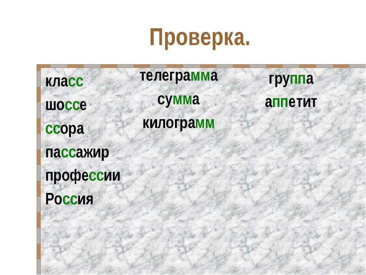 Проверка. класс шоссе ссора пассажир профессии Россия телеграмма сумма килогр...