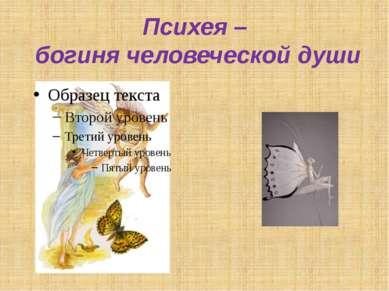 Психея – богиня человеческой души