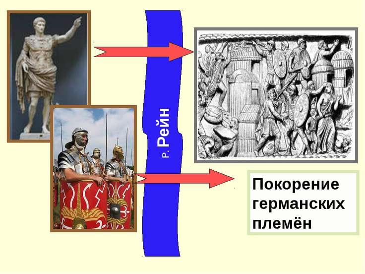 Р. Рейн Покорение германских племён