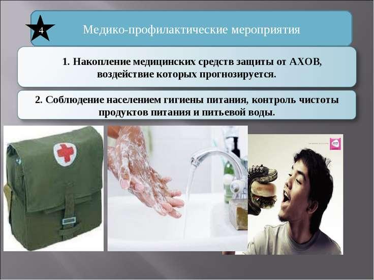 Медико-профилактические мероприятия 4