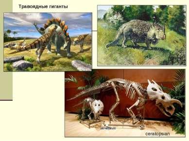 ceratopsian Травоядные гиганты