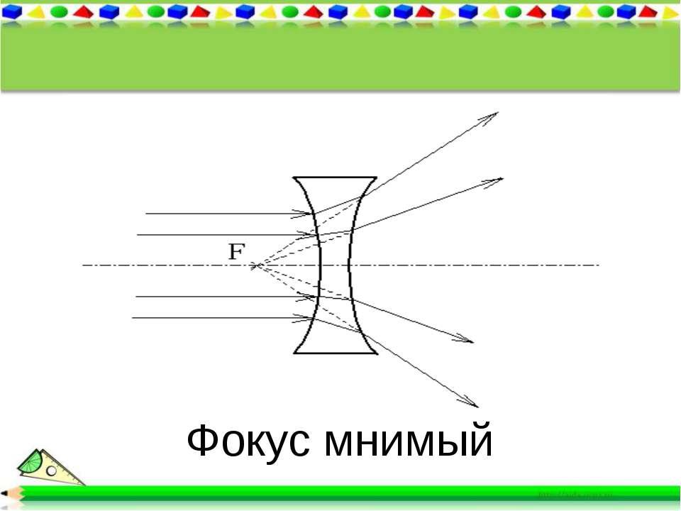 Фокус мнимый
