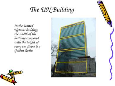The UN Building In the United Nations building, the width of the building com...