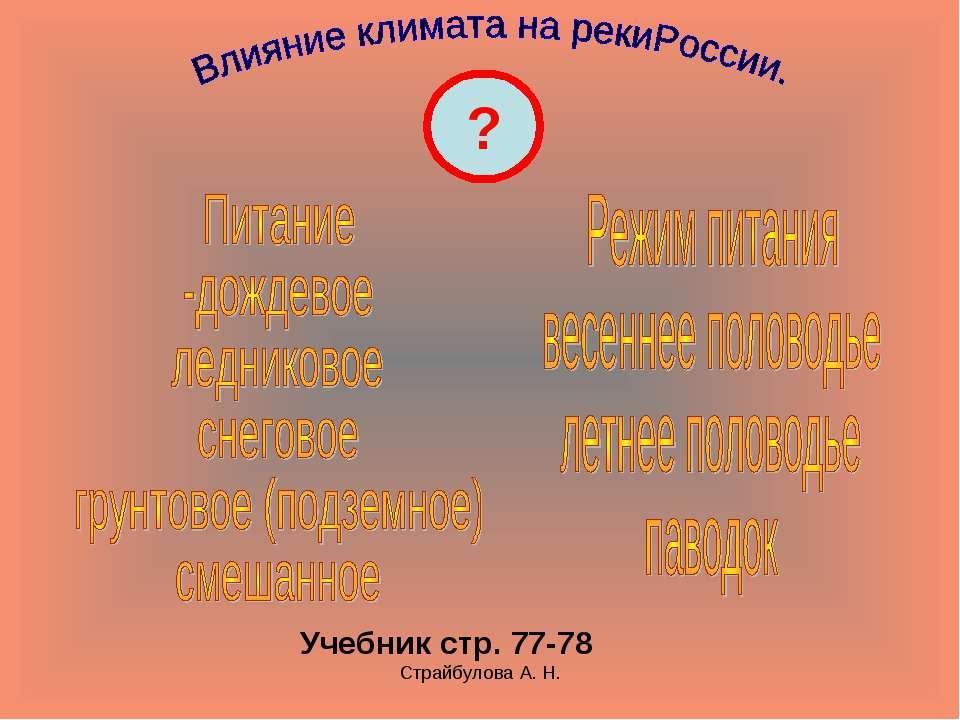 Страйбулова А. Н. ? Учебник стр. 77-78 Страйбулова А. Н.