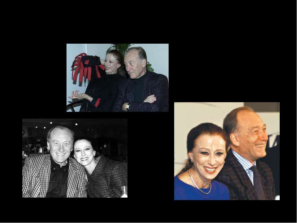 Майя Михайловна с мужем, композитором Родионом Щедриным