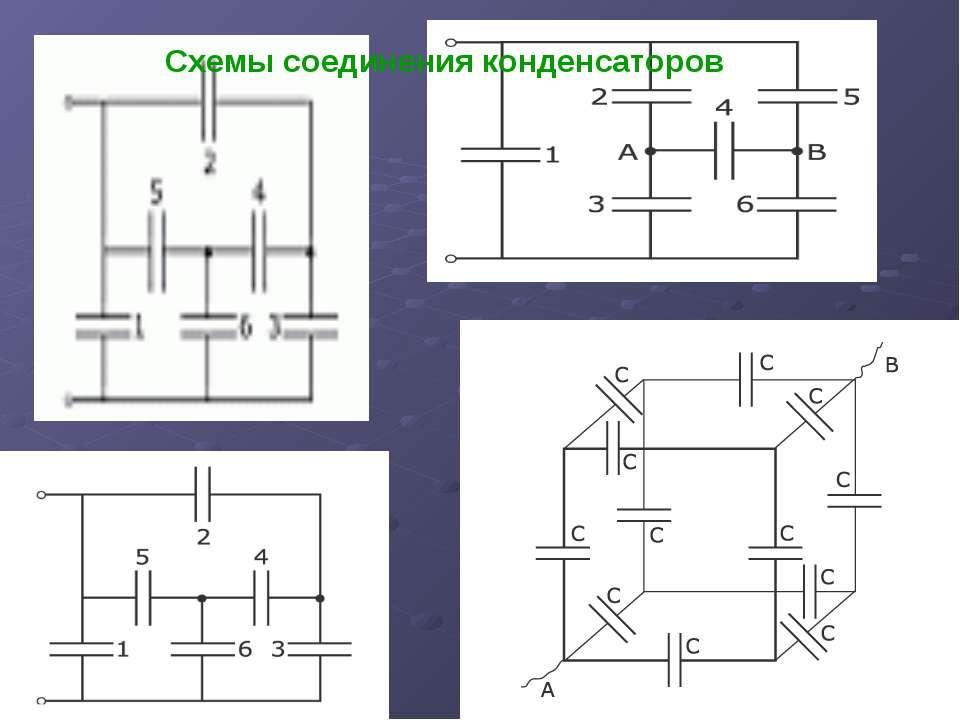 Электроемкость схемы
