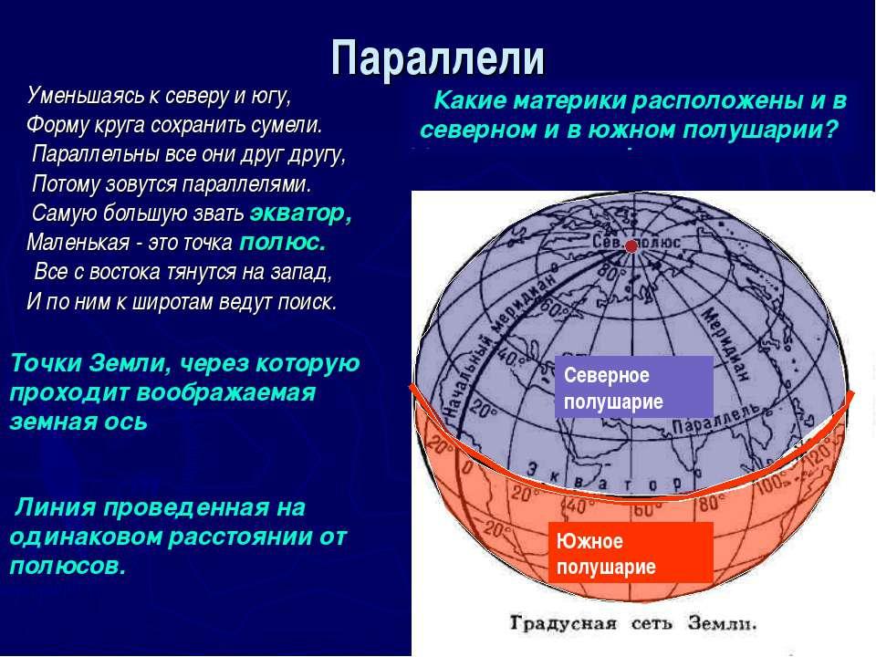 Градусная сеть на глобусе и географической карте - презентация к уроку Географии