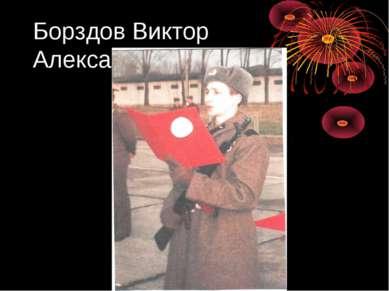 Борздов Виктор Александрович