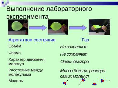 Выполнение лабораторного эксперимента Не сохраняет Не сохраняет Очень быстро ...