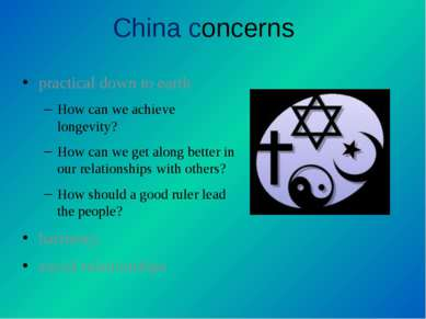China concerns practical down to earth How can we achieve longevity? How can ...