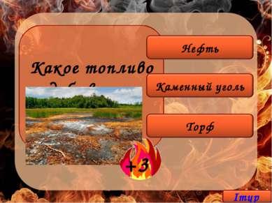 Какое топливо добывают на болоте?