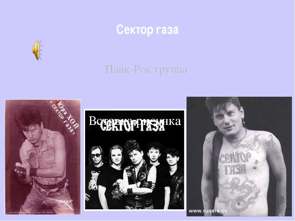 Сектор газа Панк-Рок группа