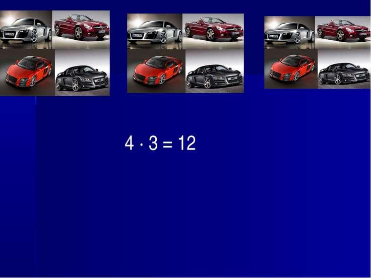 4 · 3 = 12