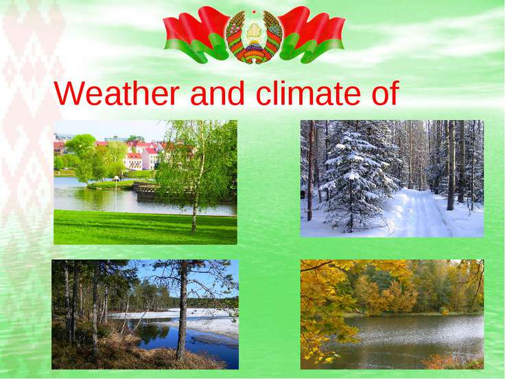 Weather and climate of Belarus