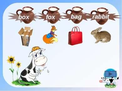 box rabbit fox bag