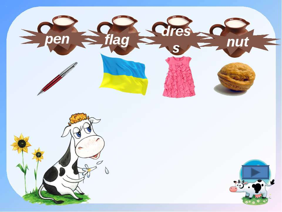 dress nut flag pen