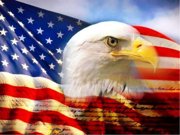 Американский флаг Один из самых известных, уважаемых и узнаваемыхсимвол...