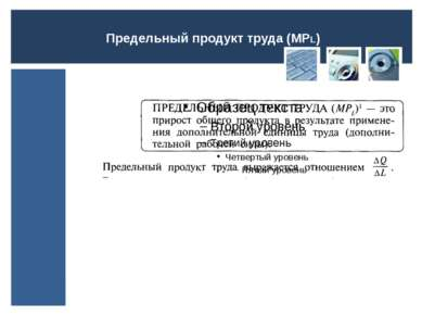 Предельный продукт труда (МPL)