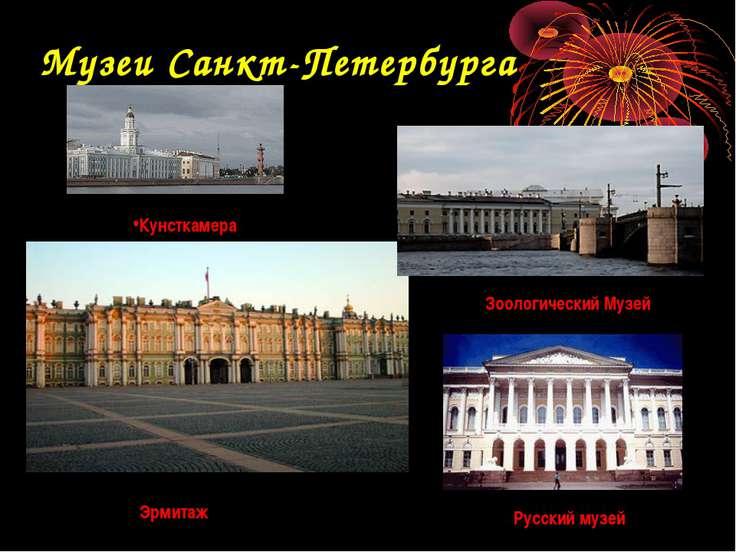 Музеи Санкт-Петербурга Кунсткамера Эрмитаж Зоологический Музей Русский музей