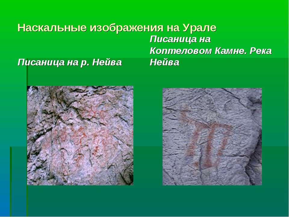 Наскальные изображения на Урале Писаница на р. Нейва Писаница на Коптеловом К...