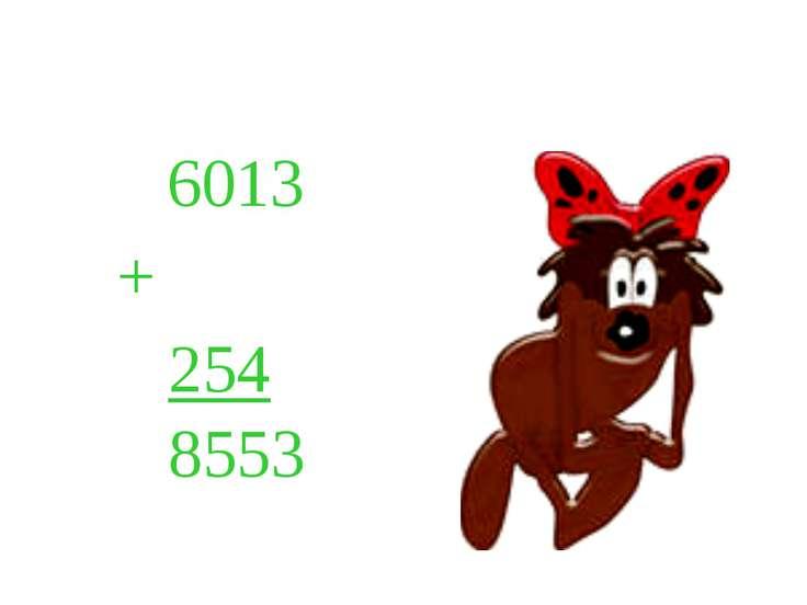 6013 + 254 8553