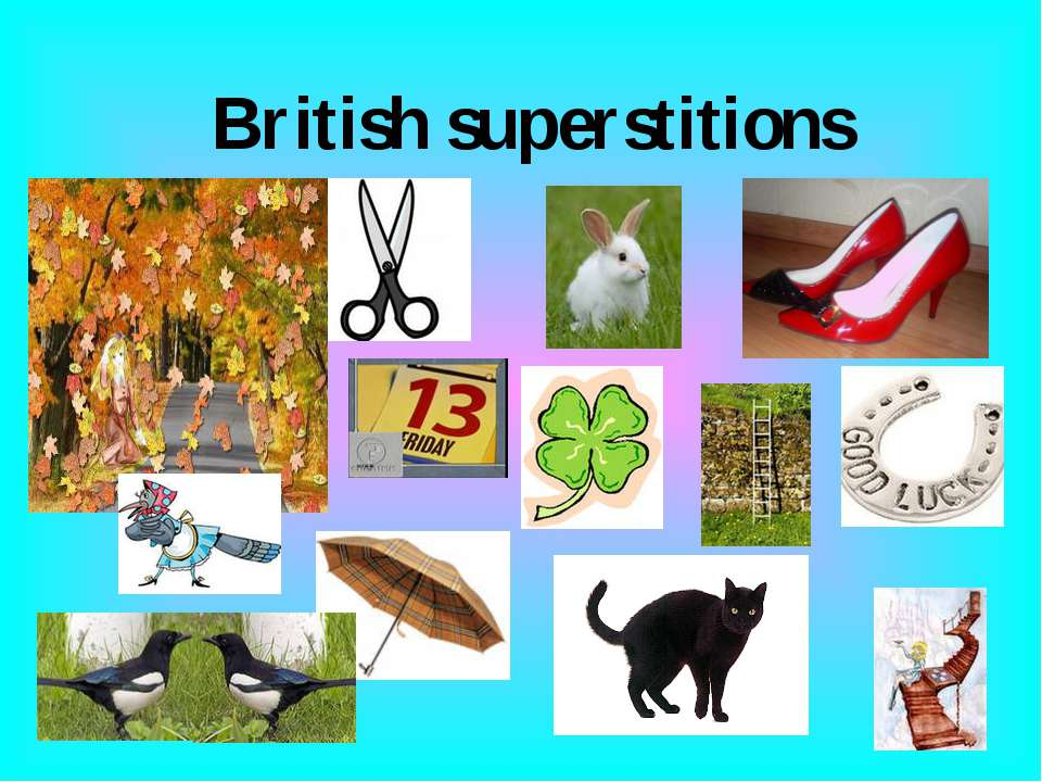 British superstitions