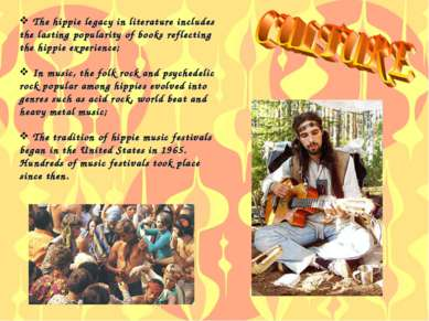 The hippie legacy in literature includes the lasting popularity of books refl...