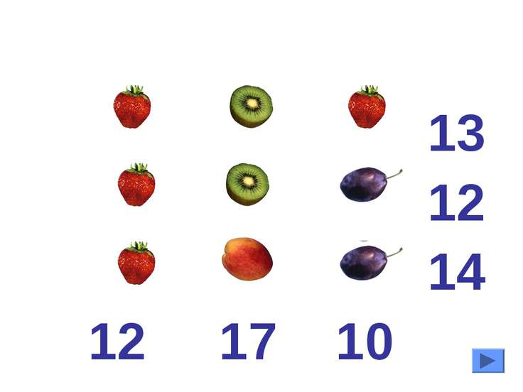 13 12 14 12 17 10 4 5 4 4 5 3 4 7 3