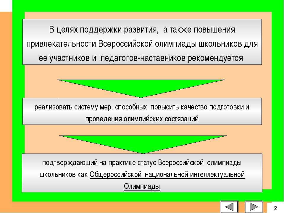 подтверждающий на практике статус Всероссийской олимпиады школьников как Обще...