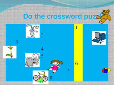 Do the crossword puzzle 1 2 3 4 5 6 7 8