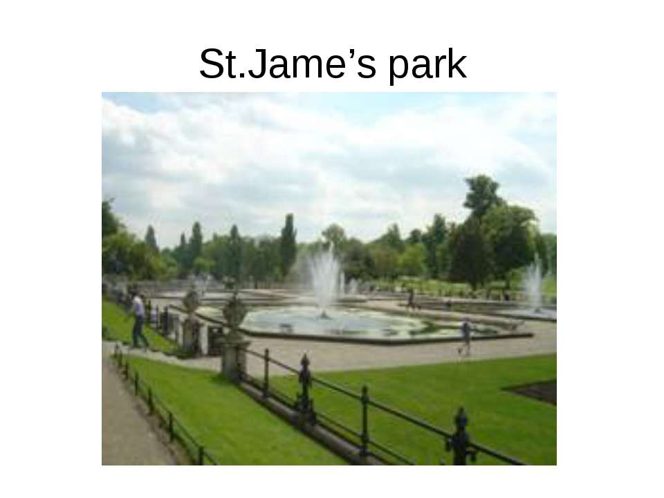 St.Jame's park