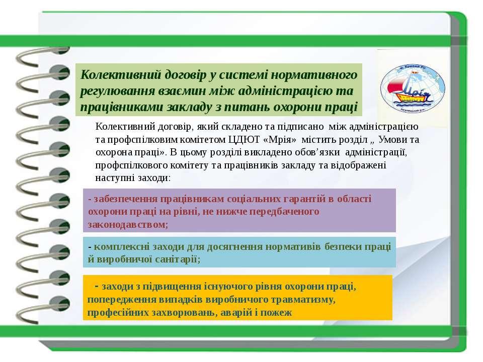 Колективний договір у системі нормативного регулювання взаємин між адміністра...